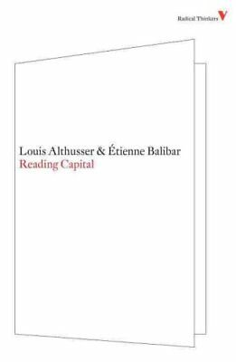 Reading Capital by Etienne Balibar, Louis Althusser (Paperback, 2009)