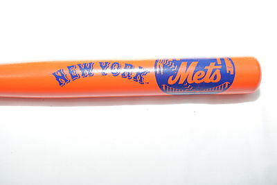 New York Mets Commemorative Mini Baseball Bat, Orange