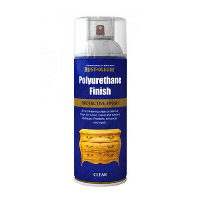 Rust-Oleum Ultra-Tough Polyurethane Clear Varnish Aerosol Spray Paint Gloss Matt