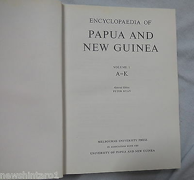 #dd5.  1972   Encyclopaedia Of Papua And New Guinea, Volume 1
