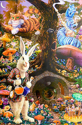 ALICE IN WONDERLAND POSTER (91x61cm) DOWN THE RABBIT HOLE NEW LICENSED ART
