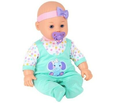 Chad Valley Babies to Love Interactive Isabella 40cm Doll 3+ Years