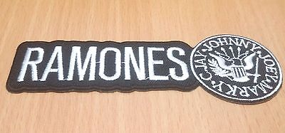 New Ramones Rock Band Heavy Metal Music Embroidered Iron On Patch Shirt Po299