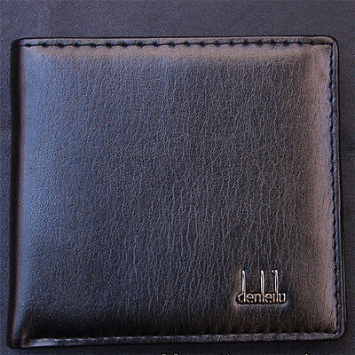Cool Men Business PU Leather Wallet Pocket Card Holder Clutch Bifold Slim Purse