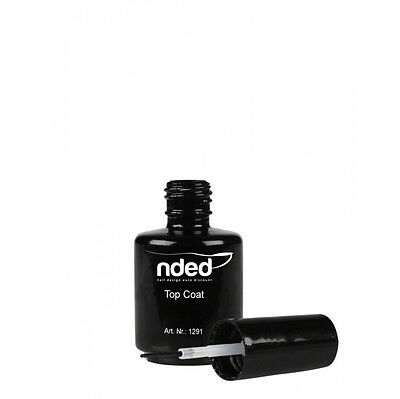Top coat brillo de secado rapido nded sin lampara 15ml uñas acrílicas ref1291
