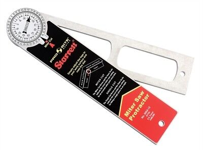 505 A12 Pro Site Protractor 300mm (12in) - Marking Out Tools - STR505A12
