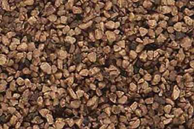 Woodland Scenics B86 Bag Of Brown Coarse Ballast