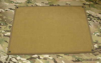 "Coyote 18"" x 24"" Morale Patch Panel OC Tactical with VELCRO® brand  Loop"