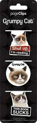 Grumpy Cat Bookmark Shut Up I'm Reading This Book Sucks Page Clips New