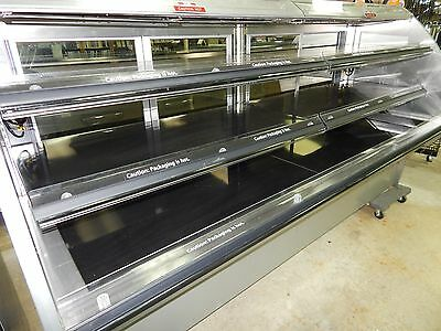 Heated Supermarket Multi-Deck Service Merchandiser