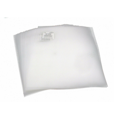 Clear 7-Mesh Count Plastic Canvas Bulk- 50 Sheets- 10.5 x 13.5 Inch Darice