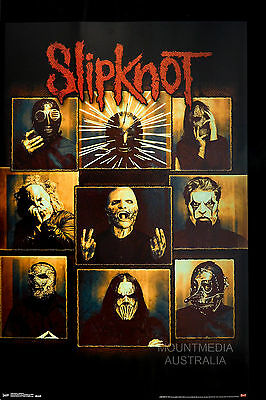SLIPKNOT - BULLETPROOF POSTER (87x57cm)  NEW LICENSED ART