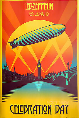 LED ZEPPELIN - CELEBRATION DAY POSTER (91x61cm)  NEW LICENSED ART
