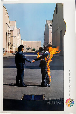 (LAMINATED) PINK FLOYD - WISH YOU WERE HERE POSTER (91x61cm)  NEW LICENSED ART