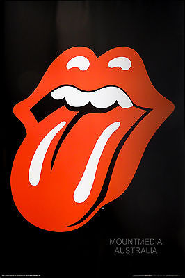 THE ROLLING STONES - BIG RED TONGUE POSTER (91x61cm)  NEW LICENSED ART