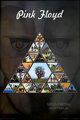PINK FLOYD - PRISM ALBUM COLLAGE POSTER (91x61cm)  NEW LICENSED ART