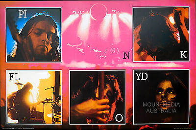 PINK FLOYD - LIVE COLLAGE POSTER (61x91cm)  NEW LICENSED ART