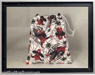 Gymnastics Leotard Grip Bags / Spiderman Gymnast Birthday Goody Bag