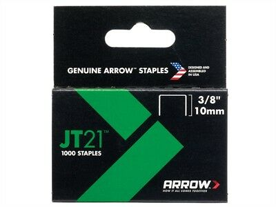 JT21 T27 Staples 10mm (3/8in) Box 1000 - Hand Tackers & Staplers - ARRJT2138S