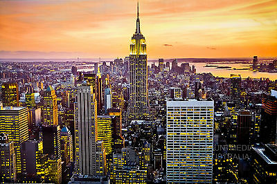 (Laminated) Empire State Building - New York Poster (61X91Cm) New Licensed Art