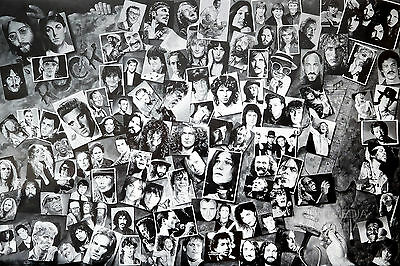 HISTORY OF ROCK & ROLL POSTER (61x91cm)  NEW LICENSED ART
