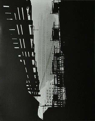 Andreas Feininger Photo Art 48x61cm Cities Service Building Pine Street New York