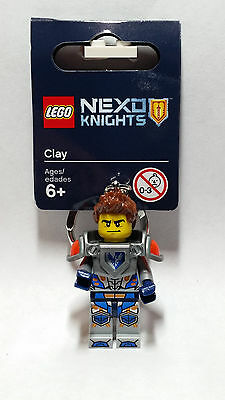 Brand New Lego - Clay Keyring (2016) - NEXO Knights - 853521 - Fast & Free P&P