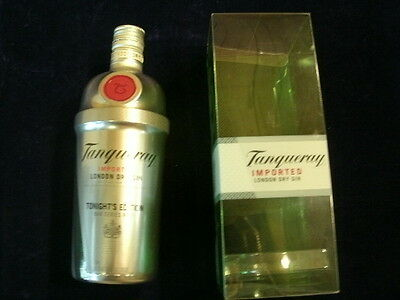 Tangueray Dry Gin TONIGHT'S EDITION Bar Series No. 1 Empty Bottle & Container  T