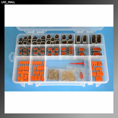330 PCS DEUTSCH DTM Genuine Professional Connector  Kit+Removal Tool, From USA