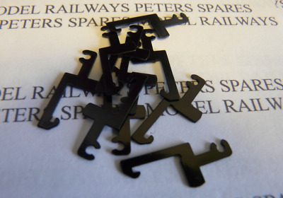 Peters Spares PS18 Lima L1-3004-00 Replacement Coupling Hooks (Pack of Ten) OO