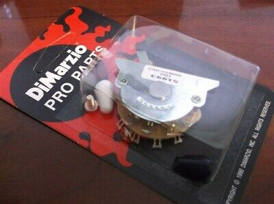 NEW - DiMarzio 5-Way Switch For Fender Strat, With Knobs, EP1104