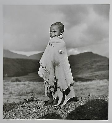George Rodger Limited Ed. Magnum Photo Poster 50x70 Südafrika 1948 South Africa