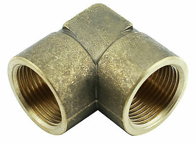 "Brass Elbow Fitting -  3/4"" Female x 3/4"" Female BSP - 1000PSI  (Box of 5)"