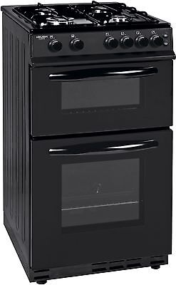 Bush AG56T Free Standing 50cm Single Gas Oven - Black :The Official Argos Store