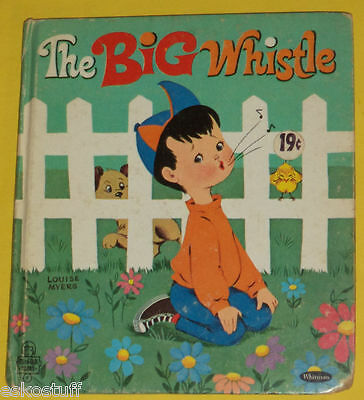 The Big Whistle 1968 Tell-A-Tale book Great Pictures! Nice SEE!