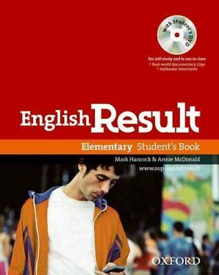 English Result Elementary: Student's Book with DVD Pack: General English...