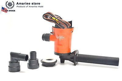 SeaChoice Live Bait Aerator Pump 19471 Salt or Fresh Water