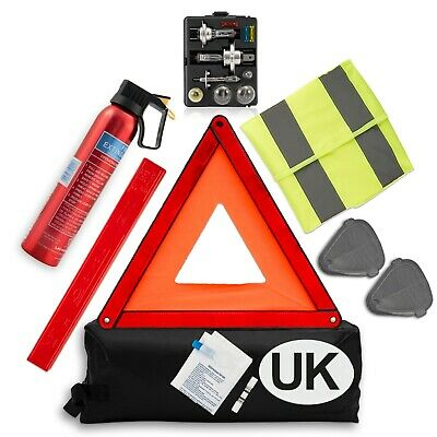 Euro Travel Kit Car Travel kit france Fire extinguisher 2 x French Breathalyser