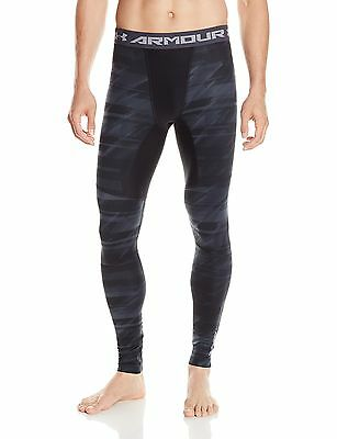 (TG. XL) Under Armour, Pantaloni da fitness Uomo, modello: CG Novelty, Nero