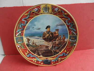 Royal Doulton,  Collectors plate The D-Day Landings