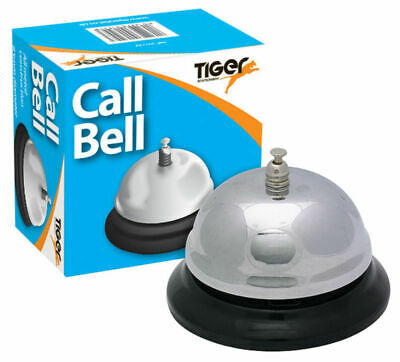 New Traditional Metal Service Call Bell Hotel Reception Desk Shop Counter Tiger