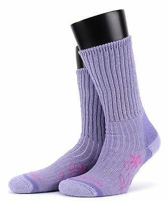 Bridgedale Ladies Trekker Merino Fusion Mid Weight Technical Outdoor Socks in La