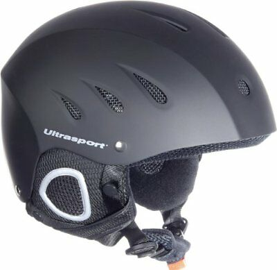 Ultrasport Race Edition Casco da Sci, Nero, XL (V2w)