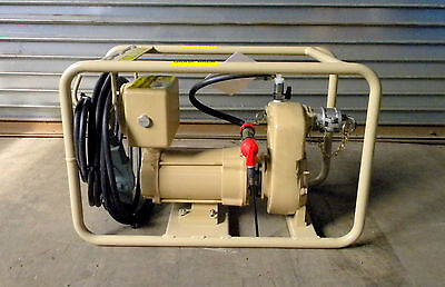 Military Surplus 24 Volt Fuel Ohler Transfer Pump & Accessories AFPS-6315-24VDC