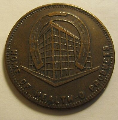 Rare Hard To Find Home Of Health-O Products Good Luck Piece Token