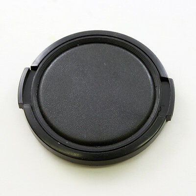 52mm Black Snap on Front Lens Cap Cover for DSLR camera Canon Nikon Sony Leica