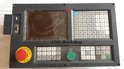 English Panel 4 Axis CNC controller for milling and boring machine