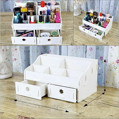 Makeup Cosmetic Holder Perfume Jewellery Case Storage Organizer Drawers AU Stock