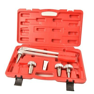 "IWISS Expander Tool Kit with 1/2""3/4""1"" Expansion Heads for Propex Wirsbo Uponor"
