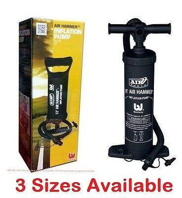 Hand Pump Air Hammer Inflatable Blow Up Inflation Airbed Pool Dinghy Small Large